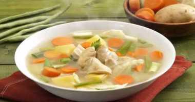 Resep Sup Ayam Hangat