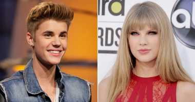 Tampil di Grammy Awards, Taylor Swift Ingin Jauhi Justin Bieber