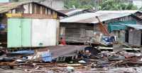 Puluhan Rumah di Batam Hancur Dihantam Gelombang Laut
