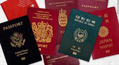 Warna Paspor di Setiap Negara Berbeda, Ini Jawabannya