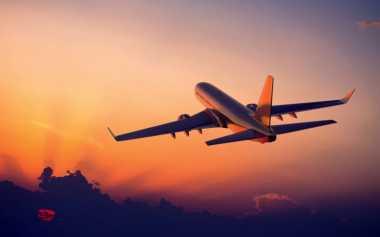 Wah, Wanita Ini Sendirian di Pesawat