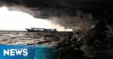 BMKG: Waspada Gelombang Tinggi Laut Jawa