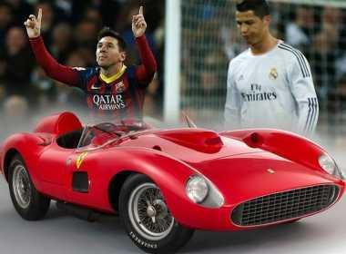 Messi Kalahkan Tawaran CR7 di Acara Lelang Ferrari 335 S Spider