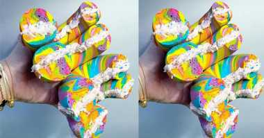 Bagel Rainbow, Bagel Tercantik di Dunia
