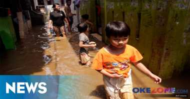 Dua Hari Diguyur Hujan, Kampung Pulo Tak Banjir