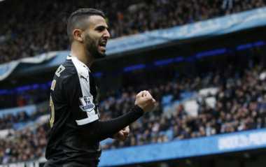 Mahrez Sejajar dengan Pemain-Pemain Terbaik Premier League