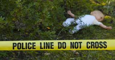 Mayat Bayi Laki-Laki Ditemukan di Tepi Tambak