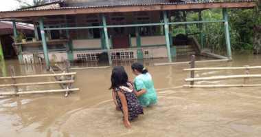 300 Rumah Warga Terendam Banjir di Bangkalan