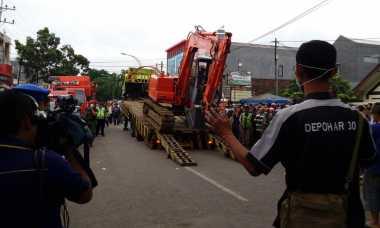 Alat Berat Dikerahkan untuk Evakuasi Bangkai Pesawat TNI