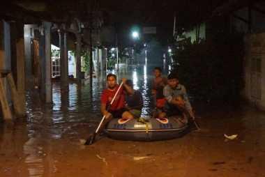 Sungai Welang Meluap, 900 Rumah Terendam
