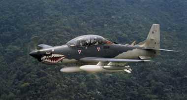 Pesawat Tucano Jatuh saat Tes Performance 320 Knot