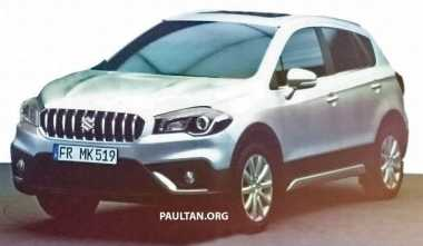 Gambar Suzuki SX4 S-Cross Facelift Bocor