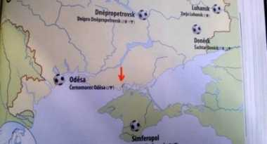 Peta Sepakbola Ceko Masukkan Krimea Bagian dari Rusia