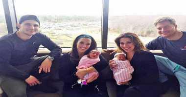 Wanita Kembar Melahirkan Bayi dalam Waktu Bersamaan