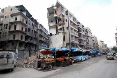 Rusia Tuduh Pesawat AS Lakukan Pengeboman di Aleppo