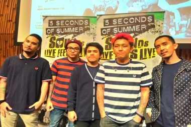 Pee Wee Gaskins akan Buka Konser 5SOS di Indonesia