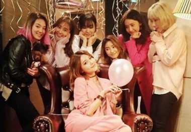 Serunya SNSD Rayakan Ulang Tahun Sooyoung