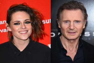 Aktor Gaek Liam Neeson Tanggapi Isu Pacari Kristen Stewart