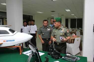 Drone Ciptaan Ongen Jadi Andalan TNI AD