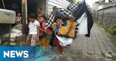 Barong Bangkung, Tradisi Anak Bali Rayakan Manis Galungan