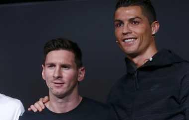 Persaingan Ronaldo & Messi Bagus untuk Sepakbola