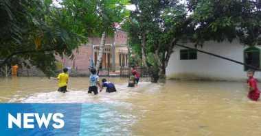 Banjir di Sampang Rendam Enam Desa