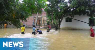 Banjir Belum Surut, BPBD Sampang Enggan Tetapkan Darurat Bencana