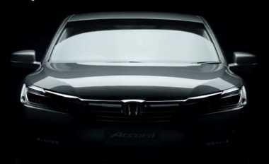 Menandai Kedatangan Accord Facelift, Honda Rilis Video Teaser