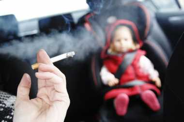 Merokok dalam Kabin Mobil Diatur di Virginia