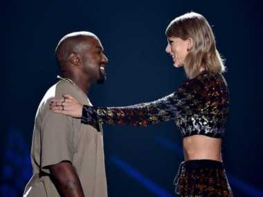 Kanye West Cela Taylor Swift di Album Baru