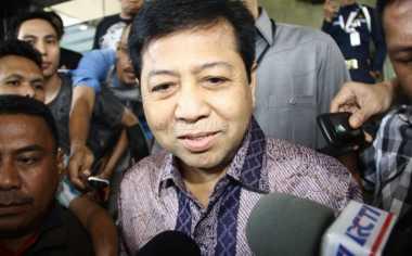 Setya Novanto Hadiri Pelantikan PPK Kosgoro Kubu Aziz