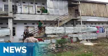 Sarang Narkoba, Polisi Acak-Acak Rumah Kontrakan di Depok