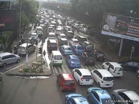 Beberapa Ruas Jalan di Jakarta Masih Ramai Lancar