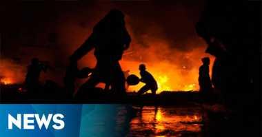 Kios Bensin Terbakar, Ibu dan Dua Anaknya Tewas Terpanggang