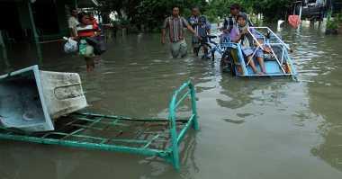 Banjir Buat Jalur Alternatif Jombang-Mojokerto Putus Total