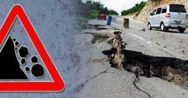 Longsor di Manggarai Barat, Tutup Akses Jalan Delapan Kabupaten