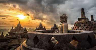 Pameran Lukisan Warnai Wisata Candi Borobudur