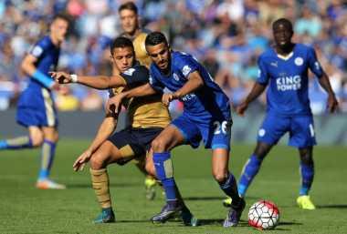 Leicester Harus Lumpuhkan Lini Tengah Arsenal