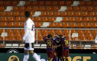Kondisi Mestalla Tidak Seperti Partai Semifinal