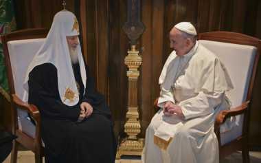 Pertemuan Bersejarah Paus & Pemimpin Kristen Ortodoks di Kuba