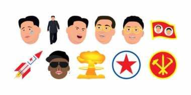 Muncul Emoji Ledek Kim Jong-un