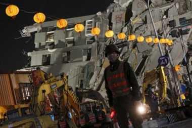 Operasi Penyelamatan Berakhir, Korban Tewas Gempa Taiwan 114 Orang
