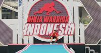 Besok, Pembuat Dodol Berjuang di Sasuke Ninja Warrior