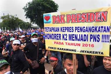 Honorer K2 Merasa Diperbudak di Negaranya Sendiri