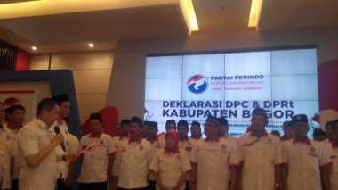 Hary Tanoe Lantik Pengurus DPC dan DPRT Perindo Bogor