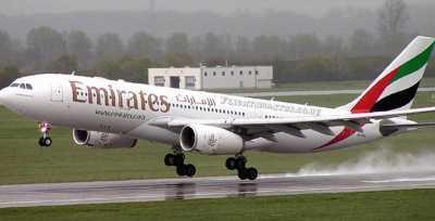Emirates Tembus Zambia dan Zimbabwe