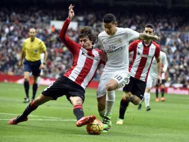 Madrid Cukur Bilbao di Babak Pertama