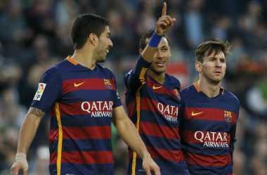 Suarez Tak Pernah Iri dengan Neymar dan Messi