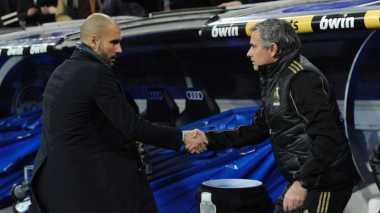 Xavi Nantikan Duel Pep dan Mourinho di Premier League