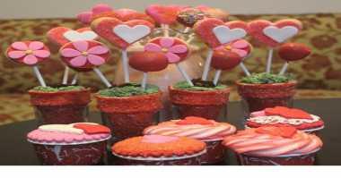 Cantiknya Kue-Kue Valentine di Hotel Bintang Lima
